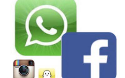 Facebook & WhatsApp veruit meest gebruikte social media gevolgd door Skype, Instagram en SMS